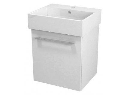 NATY umyvadlová skříňka 46,5x50x40cm, bílá