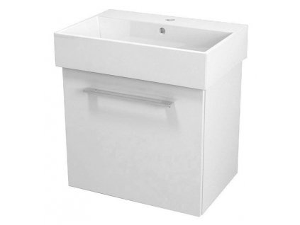 NATY umyvadlová skříňka 56,5x50x40cm, bílá