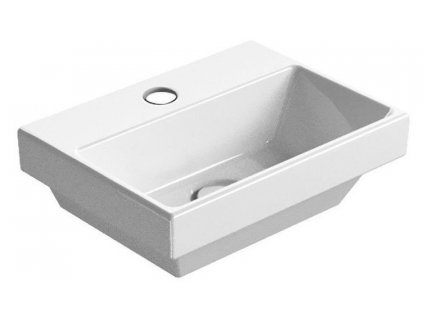 NORM keramické umývátko s otvorem, 35x12x26 cm, bílá ExtraGlaze
