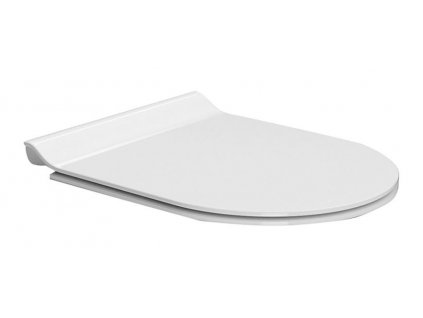NORM/PURA WC sedátko SLIM Soft Close, duroplast, bílá/chrom