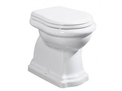 RETRO WC mísa stojící, 38,5x45x59cm, spodní odpad