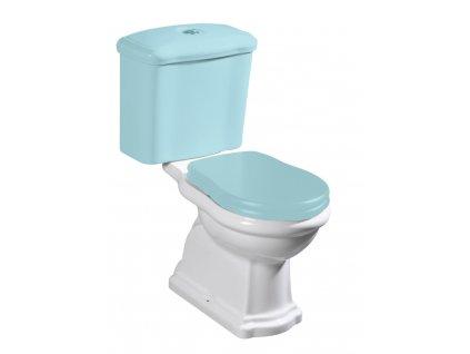 RETRO WC kombi mísa 38,5x41x72cm, spodní odpad