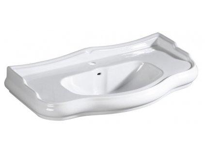 RETRO keramické umyvadlo 100x54,5cm