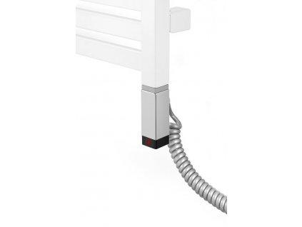 ONE topná tyč s termostatem, 600 W, chrom