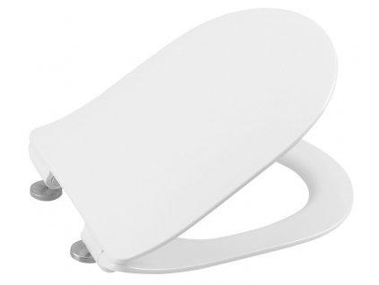 EDITA WC sedátko SLIM Soft Close, duroplast, bílá
