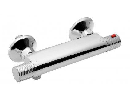 ACTION nástěnná sprchová termostatická baterie, chrom