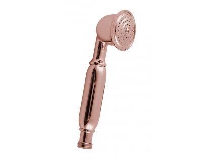ANTEA ruční sprcha, 180mm, mosaz/růžové zlato
