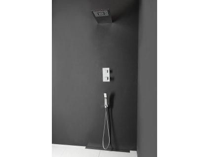 LATUS podomítkový sprchový set s termostatickou baterií, 2 výstupy, chrom