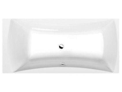 ALIA obdélníková vana 180x80x45cm, bílá