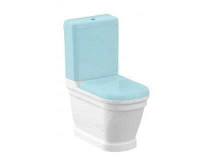 ANTIK WC mísa kombi, zadní/spodní odpad, 37x63 cm