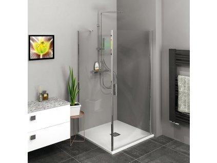 Zoom Line čtvercový sprchový kout 900x900mm L/P varianta