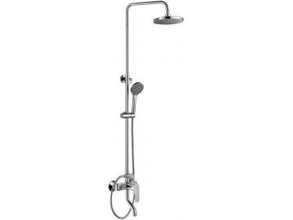 LOTTA sprchový sloup s výtokovou hubicí, chrom