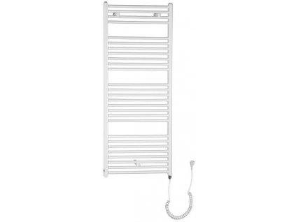 Otopné těleso pro elektrické vytápění, rovné, 970/450, bílá (včetně topné tyče)