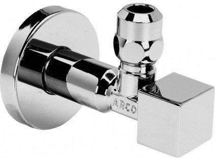 CUBO rohový ventil A-80 1/2'x3/8' s matkou, chrom