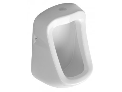KRUNA urinál s horním přívodem vody, 31x49,5 cm