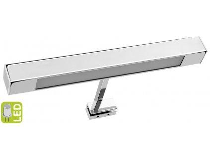 VERONICA LED svítidlo, 6W, 300x30x115mm, chrom