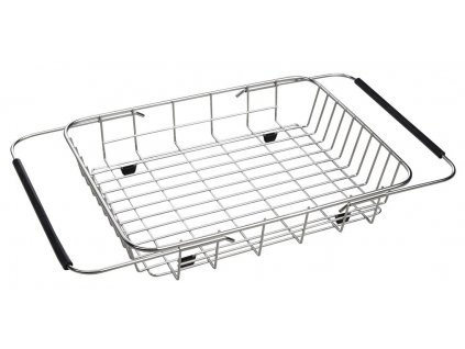 Drátěný košík ke dřezům EPIC a ZERO, 25x44x8 cm, nerez