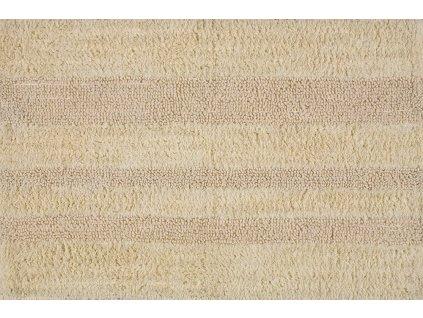 DELHI koupelnová předložka, 50x80 cm, 100% bavlna, oboustranná, hnědá