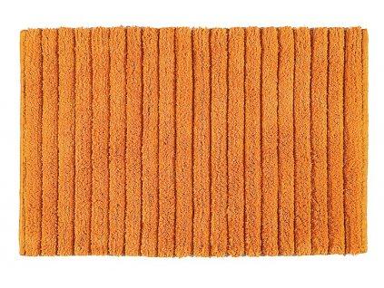 BOMBAY koupelnová předložka, 50x80 cm, 100% bavlna, protiskluz, oranžová