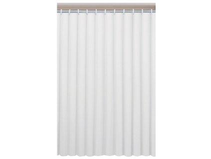 UNI sprchový závěs 120x200cm, vinyl, bílá