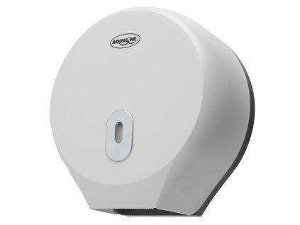 Zásobník Aqualine na toaletní papír do průměru 26cm, ABS bílá