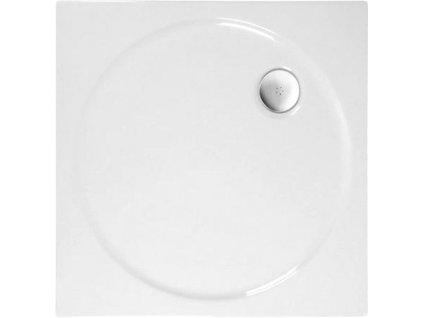 TOSCA sprchová vanička akrylátová, čtverec 80x80x4cm, bílá