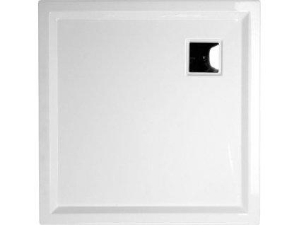 AVELIN sprchová vanička akrylátová, čtverec 90x90x4cm, bílá