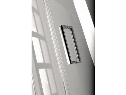 VITRA LINE sprchové dveře 1500mm, levé, čiré sklo