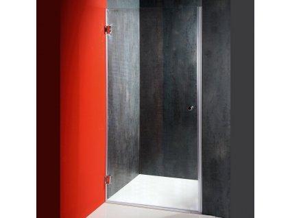FONTE sprchové dveře ATYP, rozměr 420-797mm, výška1850mm, čiré sklo