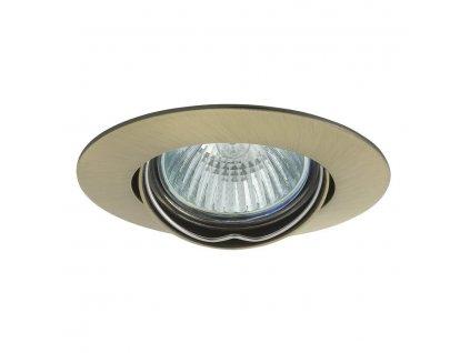LUTO podhledové svítidlo výklopné, 50W, 12V, bronz