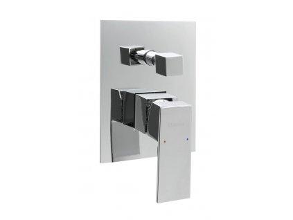 LATUS podomítková sprchová baterie, 2 výstupy, chrom