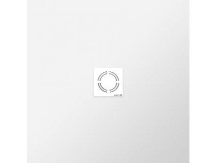 FLEXIA vanička z litého mramoru s možností úpravy rozměru, 100x100x3cm