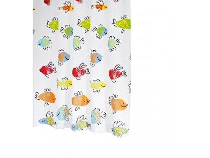 MALAWI sprchový závěs 180x200cm, polyester