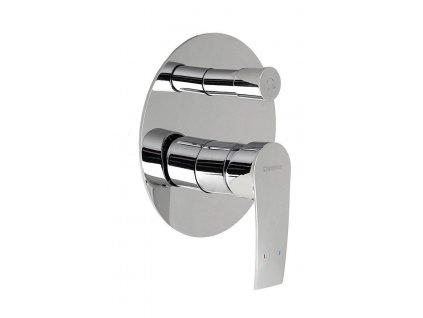 TREVIA podomítková sprchová baterie, 2 výstupy, chrom