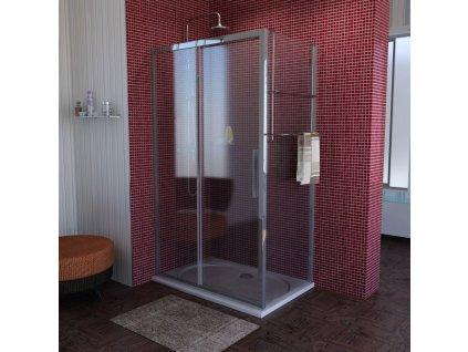 Lucis Line obdélníkový sprchový kout 1100x700mm L/P varianta