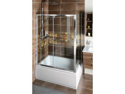 Deep obdélníkový sprchový kout 1000x900mm L/P varianta