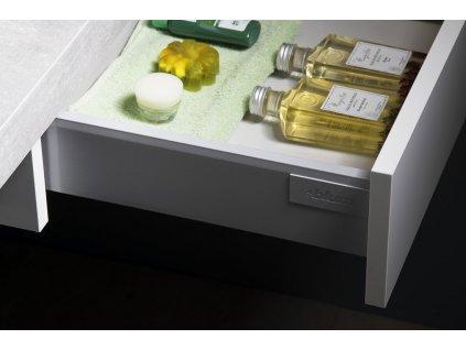AVICE 1x zásuvka závěsná 60x15x48cm, bílá
