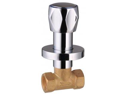 Podomítkový ventil 1/2', chrom