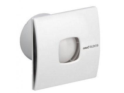 SILENTIS 12 T koupelnový ventilátor axiální s časovačem, 20W, potrubí 120mm,bílá