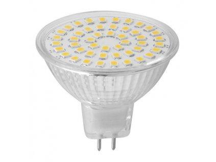 LED bodová žárovka 3,7W, MR16, 12V, teplá bílá, 320lm