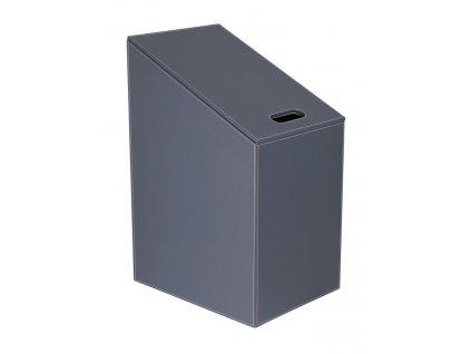 DIAGONAL koš na prádlo 30x61(43)x40cm, šedá