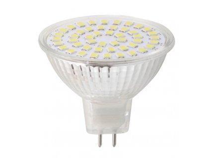 LED bodová žárovka 3,7W, MR16, 12V, studená bílá, 340lm