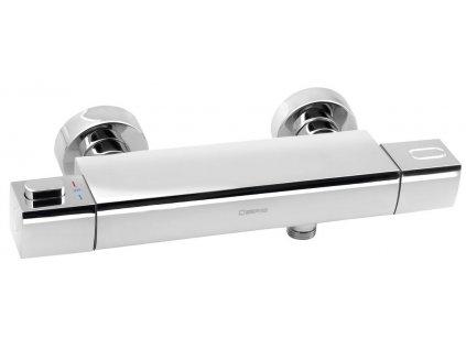 MIXONA nástěnná sprchová termostatická baterie, chrom