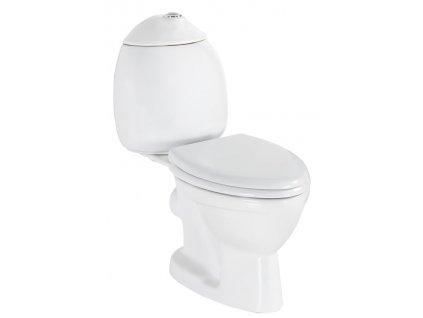 KID WC kombi dětské, zadní odpad, bílá