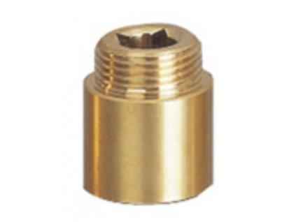 Prodloužení 1/2'x30mm, mosaz