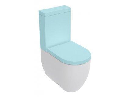 FLO WC kombi mísa 36x43x60cm, spodní/zadní odpad