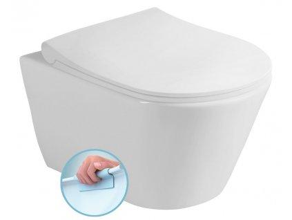 AVVA WC závěsné RIMLESS, 56x37 cm