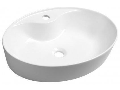MARIANA keramické umyvadlo 58x14,5x41,5 cm, na desku