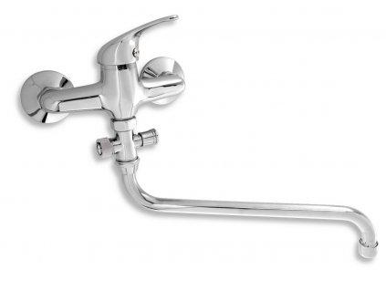 Paneláková baterie bez sprchy 150 mm Titania Iris chrom