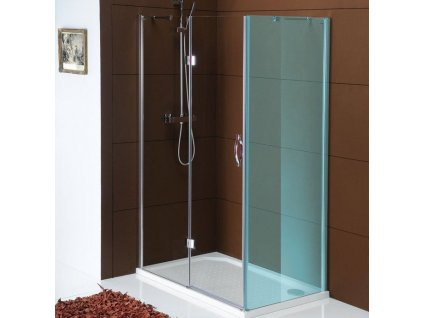 LEGRO sprchové dveře 1000mm, čiré sklo